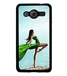 Vizagbeats Lady at Beach Back Case Cover for SAMSUNG GALAXY CORE 2