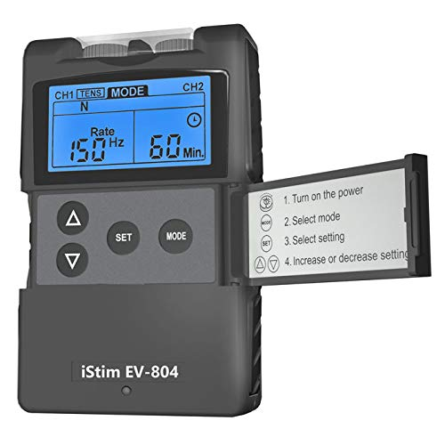 Precision Dual Channel TENS Machine-Accurate And Powerful TENS. For Fast Long Lasting Pain Relief