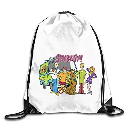 ZZHOO Drawstring Bag Domain Pineapple Rucksack for Gym Hiking Travel