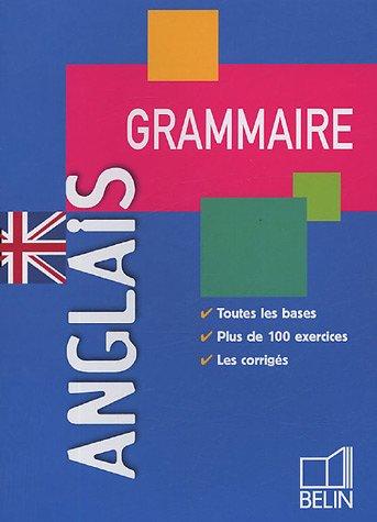 Grammaire Anglais