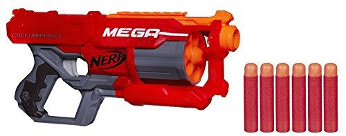 GA CycloneShock Schnellfeuer-Spielzeugblaster, mit großen Darts ()