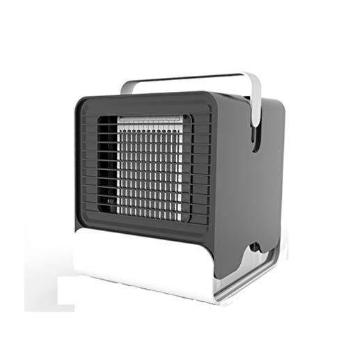 Aire Acondicionado Portátil Caravana, Ventilador de aire para Coche con refrigeración por agua USB Humidificador Purificador de aire sin Tubo