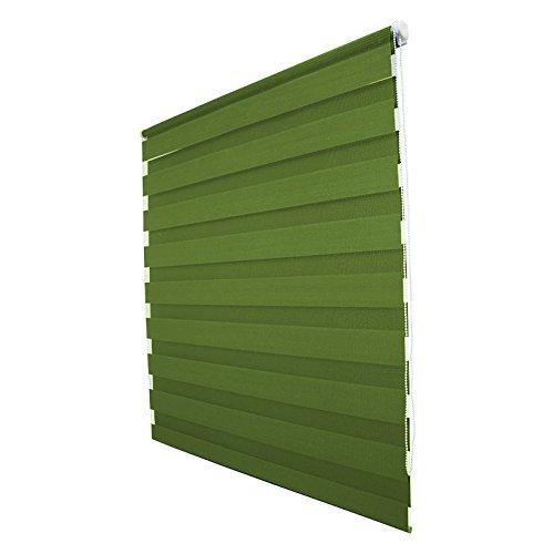 Sol Royal SolDecor DL2 Doppelrollo Klemmfix ohne Bohren 40x150cm (BxL) Grün – Duo-Fenster-Rollo mit Klemmträger - 5