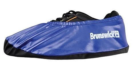 Brunswick Dura Flexx Shoe Cover (Metallic Blue) by Brunswick