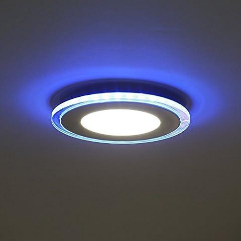 Plafonnier Led - Amzdeal Plafonnier LED Luminaire Rond Panneau Lampe