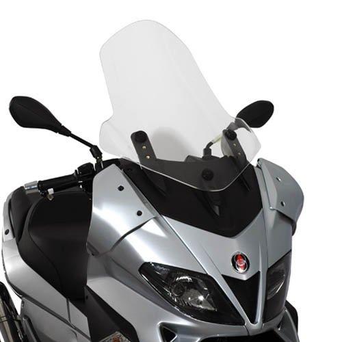 Kappa Pare-Brise spécifique Transparent 65 x 50 cm (H x l) kd351st gilera Nexus 125 - 250 - 300 - 500 (06 > 13)
