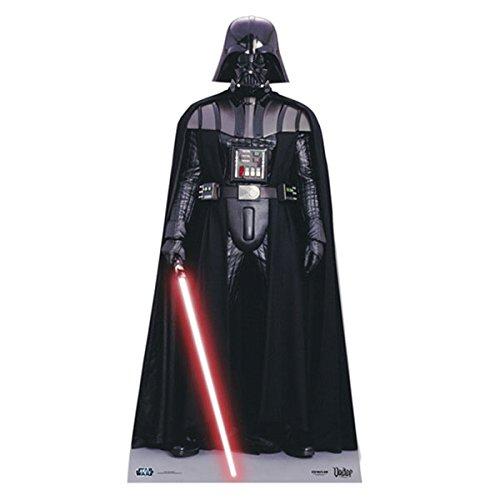 d-Up) Star Wars Star-Mini Darth Vader (96 cm) (Darth Vader Pappaufsteller)