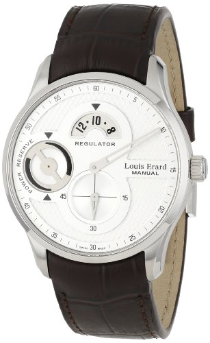 Louis Erard Men's 54209AS11.BDC27 1931 Automatic Power Reserve Brown Leather Watch