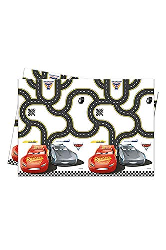 Procos 25873 Disney Cars 3 Tischdecke, 120 x 180 cm