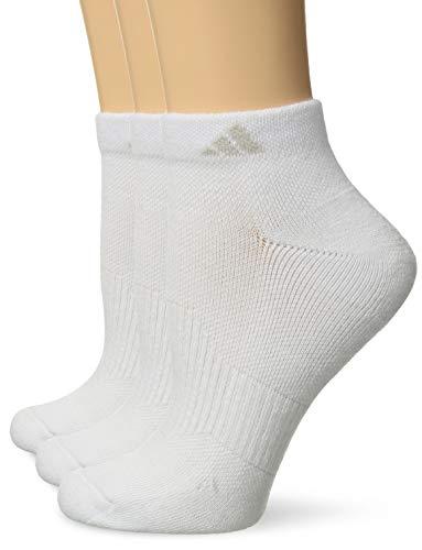 adidas Damen Gepolsterte Low Cut Socks (3er Pack), Damen, weiß/weiß, Einheitsgröße - Adidas Womens Low Cut Sock