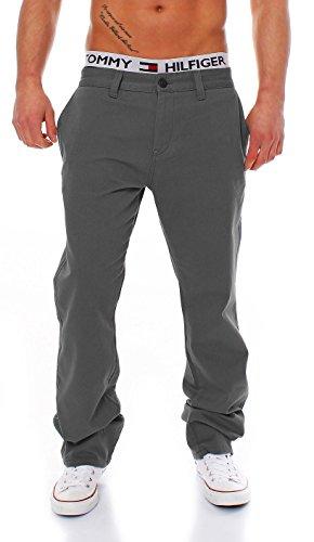 BIG SEVEN - EVAN - CHINO PANT - 8 Farben - Übergrösse XXL - Herren Jeans Hose, Farbe:Dark Grey;Hosengröße:W46/L34 (Pants Denim Hose)