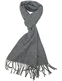 a1af383cc80 LOVARZI Echarpe en laine pour homme et femme Echarpes unisexe hiver de lux  - Made in
