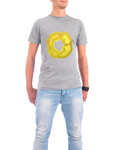 """Design T-Shirt Männer Continental Cotton """"Gelbe Paprika"""" - stylisches Shirt Essen & Trinken von Tan Kadam Grau"""