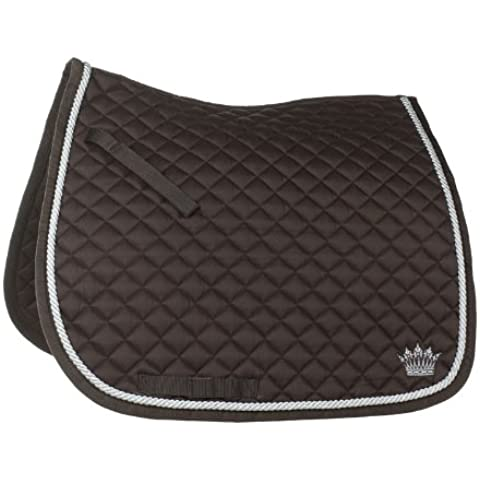Horze saddle Pad DR Chocolate Brown