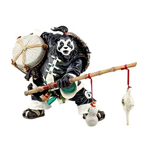 Spiel World of Warcraft Panda Man Chen Schnaps Charakter Statue Action-Figur Über 7,8 Zoll hoch
