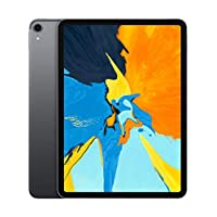 Apple iPad Pro (11 Inch, WiFi, 64GB) with Facetime - Space Gray (Latest Model) MTXN2LL/A