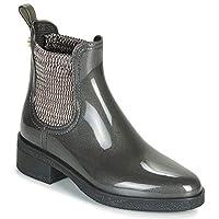 Lemon Jelly RIGA Boots Femmes Grey/Metallic Wellington Boots