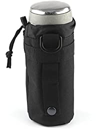 Powstro Tactical Military Water Bottle Holder Nylon Pouch Outdoor Sport Water Bottle Kettle Bag