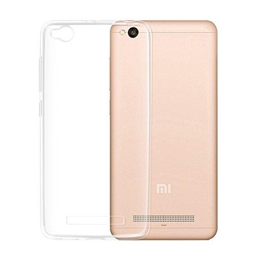 CoverKingz Schutzhülle Handy Hülle für Xiaomi Redmi 4A Handyhülle durchsichtig, Silikon Case Transparent