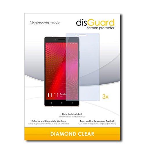 3 x disGuard® Schutzfolie Gionee Elife E8 Bildschirmschutz Folie