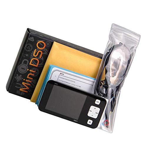 B Blesiya Mini Version DS211 Digital Speiche Oszilloskop, für Schulexperimente/elektronische Reparaturen/Elektrotechnik