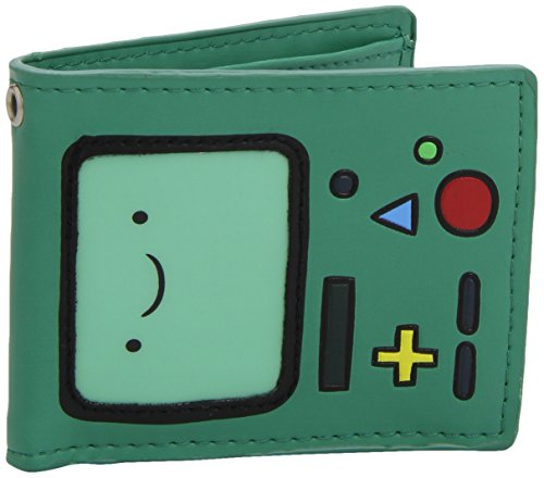 Adventure-Time-Beemo-Official-New-Green-Bi-Fold-Wallet