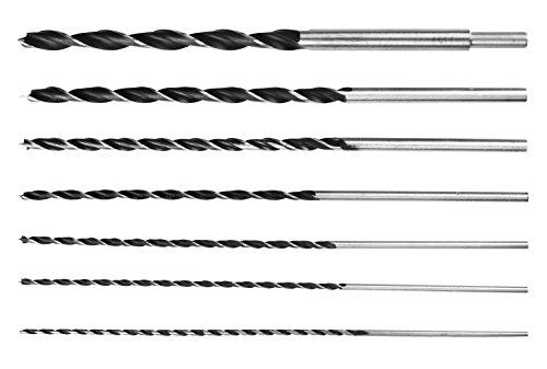 Ansen Tools eine 207an-207–7Stück extra lang 30,5cm Brad Punkt Bohrer Set