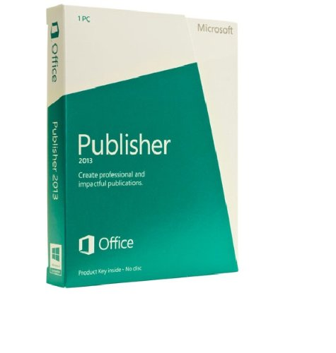 Microsoft Publisher 2013 - 1PC (Product Key Card ohne Datenträger)