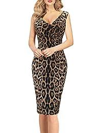 Damen Kleid Spitzenkleid Azteken Club Empire Festlich S 34 36 kurz Braun Tunika