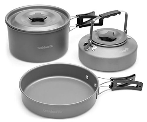 Trakker Armolife Complete Cookware Set - Carp Pike Cat Fishing Cooking Equipment