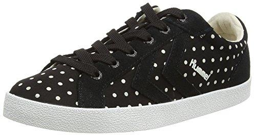 Hummel Damen Deuce Court Dot Sneaker Black (Black 2001)
