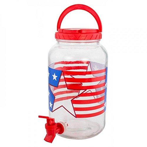 ke Spender–Memorial Day, Flagge Tag, vierte von Juli, Unabhängigkeit Tag, Labor Day, American Patriotische Party Favor Dekorationen (Patriotische Getränke)