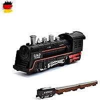 HSP Himoto eléctrico de ferrocarril Starter Set, Tren, Locomotora de Vapor, Simulación de Sonido, Modelo de Locomotora, Set Completo