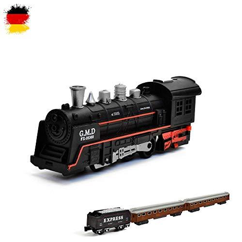 Hsp himoto - set completo treno elettrico, locomotiva a vapore, simulazione del suono, locomotiva modello
