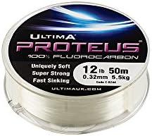 Ultima Proteus Stiff fluorocarbono línea de pesca mar