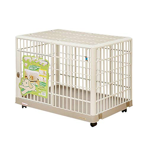 Pet cage, dog cage dog cage Alice small and medium dog resin cat cage Teddy fund fund with toilet