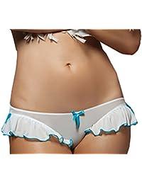 String culotte avec voilette lingerie sexy taille unique