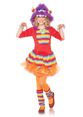 Leg Avenue C48203 - Kostüm Set Rainbow Monster, Größe S, (Trachten Kind Rainbow)