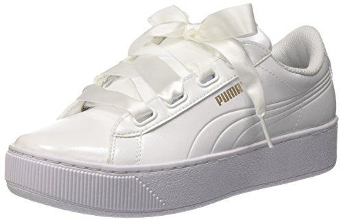 Puma Damen Vikky Platform Ribbon P Sneaker, Weiß White 2, 39 EU