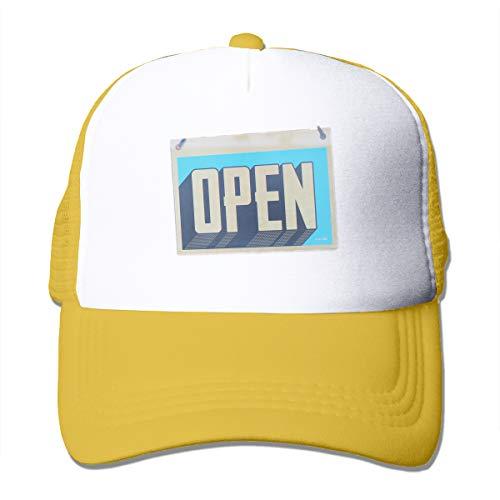 Bgejkos Open Word Men Women Sports Hat