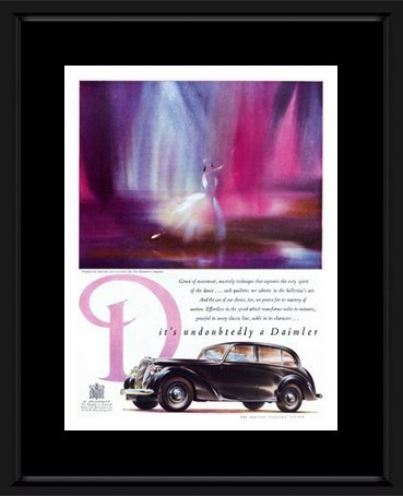 daimler-car-advertisement-1950s-framed-and-mounted-print-53x43cm