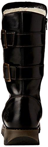 FLY London Damen Sack861fly Biker Boots Schwarz (Black(Warmlining) 000)