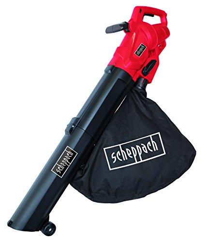 Scheppach 5911002901 Laubbläser/Häcksler/Laubsauger/Elektro-Laubsauger LB2600E | 3in1: Laubsauger, Laubbläser, Häcksler, Umschalthebel, einstellbarer Handgriff | 4,1PS Motor, Sammelbehälter: 45L (1 Ps-gebläse Motor)