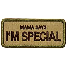 Cobra Tactical Solutions Military Embroidery Moral Patch | Mama Says Im Special with Hook