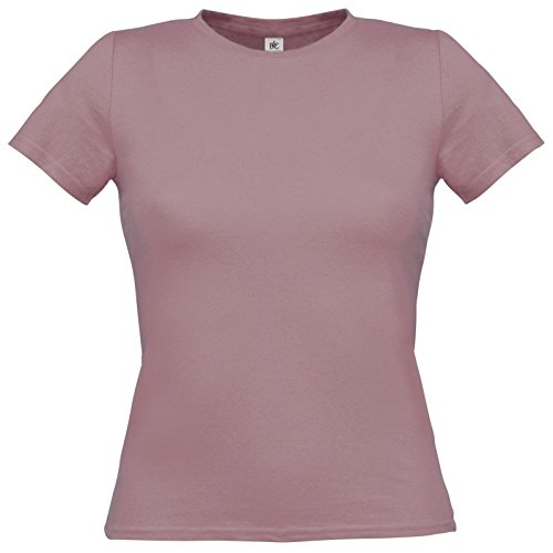 Flirty Wardrobe B & C uniquement Drap en coton T-shirt pour femme Violet