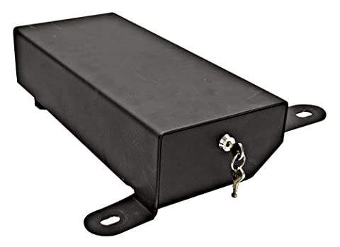 Bestop 42642-01 Black Under Seat Passenger Side Lock Box (does not fit '11-up Wrangler 2-door