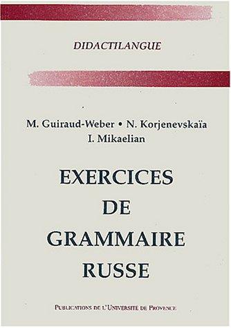 Exercices de grammaire russe