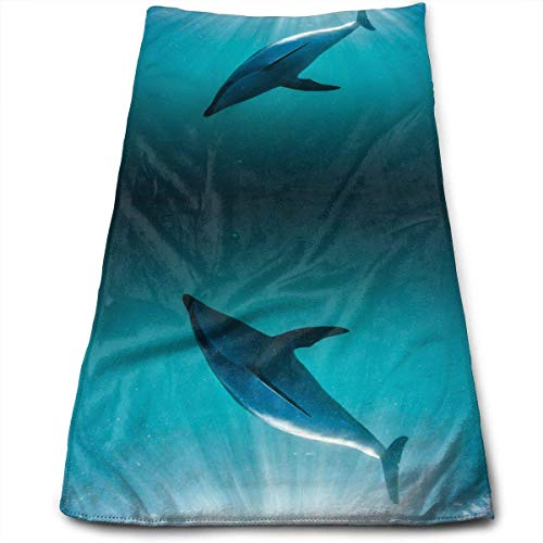uhfgyhuihjf Sea Creatures 100% Cotton Towels Ultra Soft & Absorbent Bathroom Towels Great Shower Towels, Hotel Towels & Gym Towels
