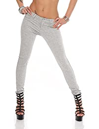 11307 Hautenge Treggings Leggings Hose pants Stretchhose Damenhose