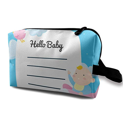 356e763761 Cartoon Cute Baby Flying On A Plane Small Travel Toiletry Bag Super Light  Toiletry Organizer for Overnight Trip Bag